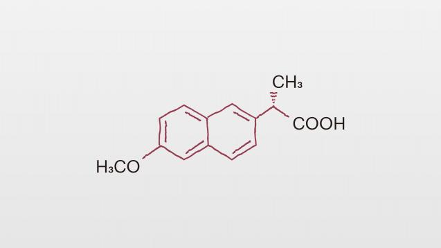 Bei der Einnahme von Naproxen sind einige Nebenwirkungen, Wechselwirkungen und Kontraindikationen zu beachten. (Grafik: DAZ.online)