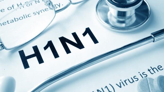 H1N1 macht bislang 70 Prozent der nachgewiesenen Influenzafälle aus (Foto: designer491 / Fotolia)