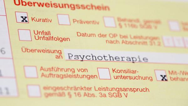 Kassenpatienten warten fünf Monate auf einen Psychotherapieplatz