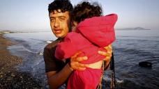 Derzeit kommen täglich weitere Flüchtlinge nach Griechenland. (Foto: Reuters/Y. Behrakis)
