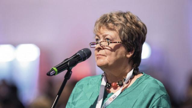 Magdalene Linz kritisiert die Liefersituation für Arzneimittel in Deutschland und fürchtet, dass es eher schlimmer als besser wird. ( r / Foto: Schelbert / DAZ.online)