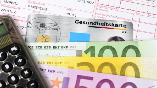 Netto-Verwaltungskosten der Kassen steigen um 5 Prozent