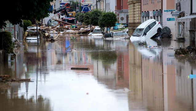 überflutung Bayern