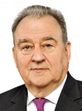 Porträt von Fritz Becker, Vorsitzender des Deutschen Apothekerverbands