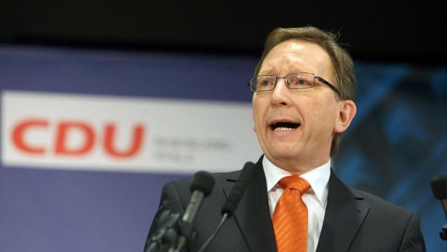 Erwin Rüddel (CDU) soll Vorsitzender des Gesundheitsausschusses werden. (Foto: dpa)