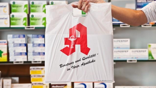 Jede Tüte kann einen Unterschied für Apotheker ohne Grenzen machen. (Foto: ABDA)
