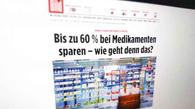 """Sparfochs"" Frank Ochse gibt seinen Lesern Geldspartipps. (m / Foto: Screenshot Bild.de)"