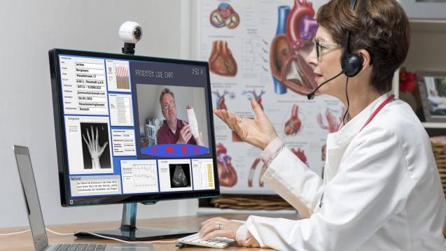 Online-Beratungen von Ärzten in ganz Deutschland? Nichts da! Die Ärzte in Brandenburg lehnen es ab, ihre Patienten ausschließlich über das Internet oder Telefon zu beraten. (c / Foto: imago)
