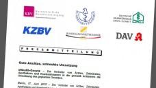Ohne betroffen zu sein, unterstützt der DAV die Kritik der übrigen gematik-Gesellschafter zum Zeitplan des E-Health-Gesetzes.