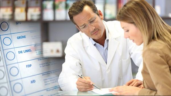 Was sagen die Parteien zu den pharmazeutischen Dienstleistungen?