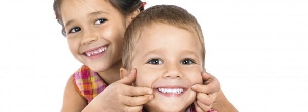Schöne Zähne von Anfang an