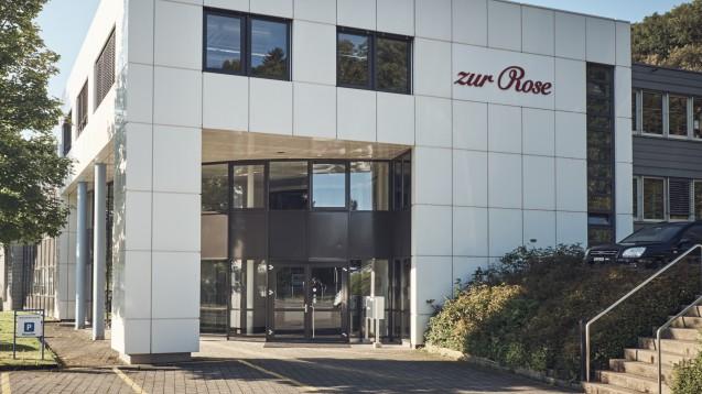 Der Schweizer Pharmahandelskonzern und DocMorris-Mutterkonzern Zur Rose schraubt seine Finanzerwartungen nach oben. ( r / Foto: Zur Rose)