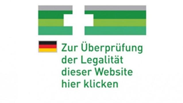 Ab 26. Juni kann, ab 26. Oktober muss jeder Webshop, der freiverkäufliche Arzneimittel versendet, das neue EU-Logo tragen. (Logo: BMG)