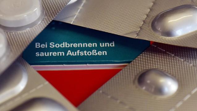 Gegen Sodbrennen sind PPI ohne Rezept in der Apotheke zu haben. (Foto: dpa)