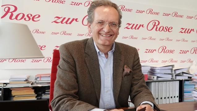 Zur Rose-Chef Walter Oberhänsli setzt auf das E-Rezept. Recht geben ihm Analysten der Deutschen Bank, die ein rasantes Wachstum für DocMorris / Zur Rose vorhersagen. (Foto: dpa)