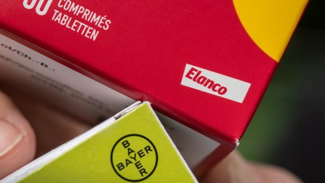 Der Pharmakonzern Bayer wird seine Tierarzneimittel-Sparte an den US-Konzern Elanco verkaufen. Der Kaufpreis: 7,6 Milliarden US-Dollar. (Foto: dpa)