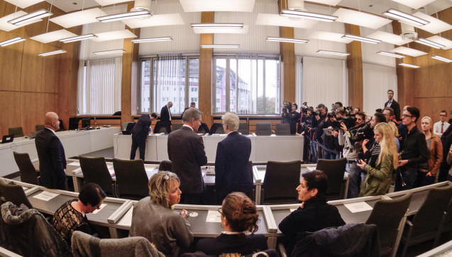 Für das Verfahren sind bislang 14 Verhandlungstermine angesetzt.