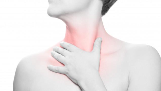 Schluckbeschwerden sind ein Leitsymptom dereosinophilen Ösophagitis. (Foto: Sentello / stock.adobe.com)