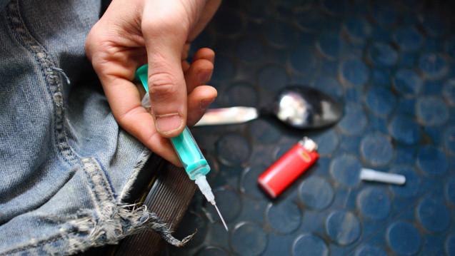 In GRoßbritannien bietet eine Apotheke in einem Automaten steriles Injektionsbesteck an. (Foto: Imago)
