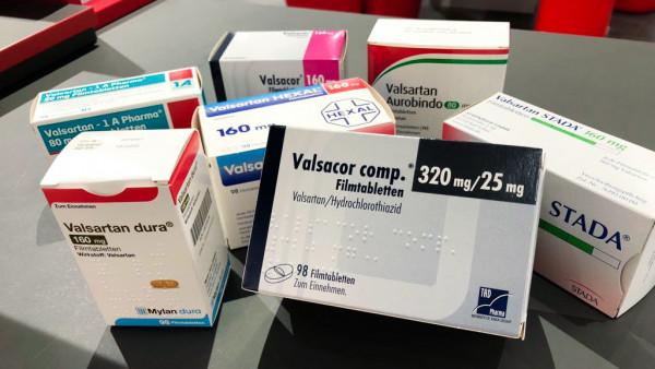 Hennig und AAA-Pharma rufen Valsartan-Präparate zurück