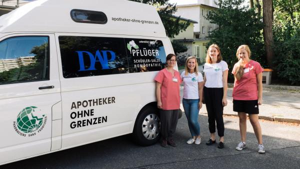 Apotheker helfen weltweit – auch in Deutschland