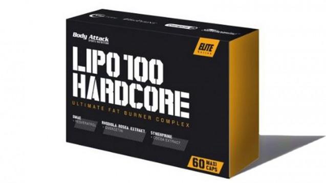 Lipo 100 Hardcore wird nicht über Apotheken, sondern über Fitnessshops vertrieben (Foto: Screenshot / DAZ)