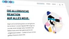 Eine allergische Reaktion auf alles Neues - die EU-Versender beschweren sich in ihrer Neuschnupfen-Kampagne über eine zu große Skepsis bei der Digitalisierung. Die Apotheker-Initiative #retteDeineApotheke kontert umgehend. (Screenshot: DAZ.online)
