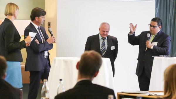 Max Müller und Andreas Kiefer wollen sich nicht streiten