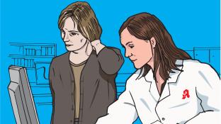 Eine Patientin mit anaphylaktischem Schock