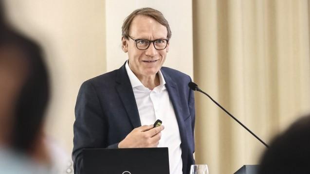 Thomas Preis, Chef des Apothekerverbandes Nordrhein, fordert, dass die Versorgung mit Arzneimitteln zu Krisenzeiten auf die Apotheken vor Ort konzentriert wird. (t/Foto: AVNR)