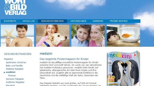 """In der Kritk: Die Januar-Ausgabe von """"medizini"""". (Bild: DAZ.online)"""