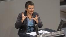 Kathrin Vogler sitzt seit dem Jahr 2009 für die Linke im Bundestag. (Foto: IMAGO / photothek)
