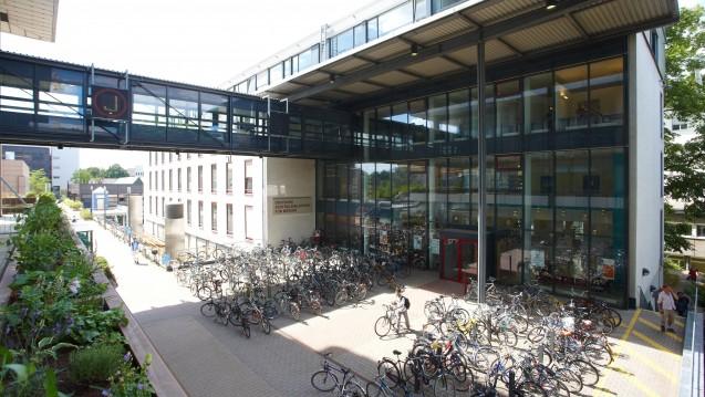 Von der Schließung bedroht: Standort Köln der Zentralbibliothek Medizin. (Foto: ZB-MED)