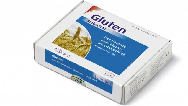 Nur einer der Schnelltests aus der Apotheke: Gluten-Selbsttest von Stada (Foto: Stada)