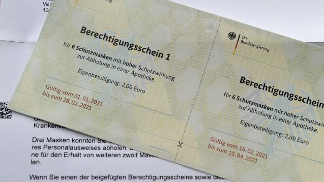 Der Abrechnungs-Dienstleister ARZ Darmstadt hat bei seinen Abrechnungsgebühren für Masken-Berechtigungsscheine nachgebessert. (c / Foto: IMAGO / Future Image)