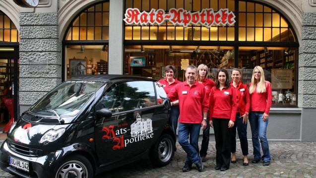 Kein Nachfolger in Sicht: Apotheker Horst Lube aus Oldenburg muss seine Rats-Apotheke schließen, eröffnet wurde sie im Jahr 1597. (Foto: Rats-Apotheke)