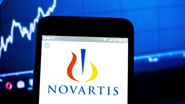Novartis solldas Manipulieren von Testdaten vor der Zulassung der Gen-Therapie Zolgensma bei spinaler Muskelatrophie verschwiegen haben. Die Aktienkurs gab erst einmal nach. (c / Foto:imago images / ZUMA Press)