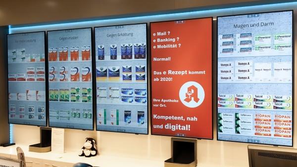 Gegenkampagne: Das E-Rezept kommt. In die Apotheke vor Ort!