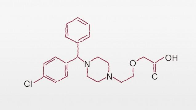 Eine neue Folge des Wirkstoff-Lexikons ist da: Inklusive Podcast informieren wir über Wissenswertes zu den Wirkstoffen Cetirizin und Levocetirrizin. (Grafik: DAZ.online)