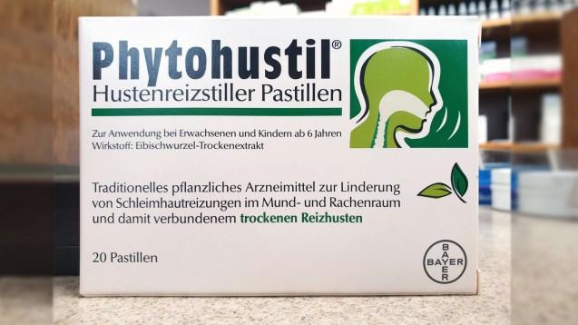 Phytohustil gibt es nur noch in der Apotheke. (m / Foto: Isen-Apotheke Ampfing)