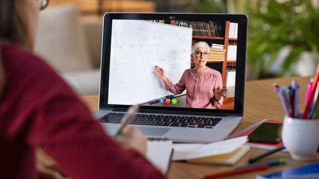 Bei der Umstellung von Präsenzveranstaltungen auf Online-Lehre lief offenbar nicht alles rund. (c / Foto: Rido / stockadobe.com)