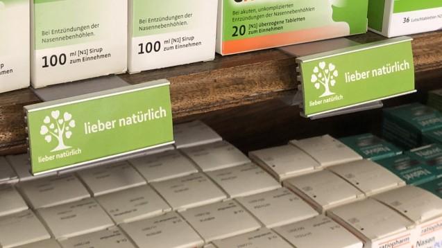 """""""Lieber natürlich"""" ist ein Konzept der Sanacorp-Kooperation """"mea – meine Apotheke"""", bei dem es um Nachhaltigkeit geht. (Foto: privat)"""
