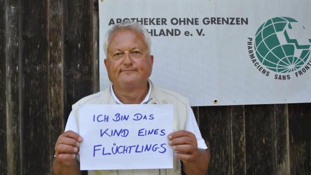 AoG-Vorstand Dr. Thomas Bergmann, Tutzing, erinnert an die Abstammung vieler Deutscher. (Foto: AoG)