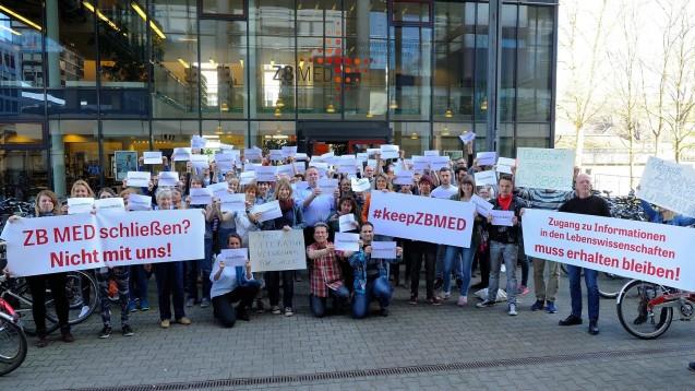 Die vor einigen Wochen protestierenden Nutzer und Mitarbeiter dürfen wieder etwas Hoffnung haben. (Foto: ZB MED)