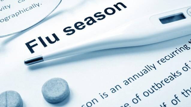 Symbolbild: Baloxavir marboxil nutzt als Virustatikum einen bei Influenzaviren bislang nicht therapeutisch verwendeten Angriffspunkt. ( r / Foto:designer491 / stock.adobe.com)