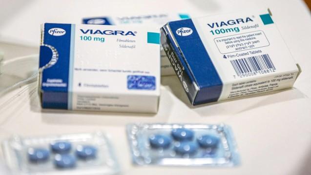 Viagra gilt als eines meistgefälschten Arzneimittel. ( r / Foto:imago images / photothek)