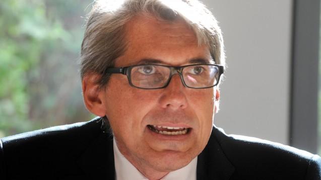 Er soll die DAK retten: Andreas Storm, hier noch in seiner Funktion als Saarländischer Gesundheitsminister. (Foto: picture alliance / BeckerBredel)