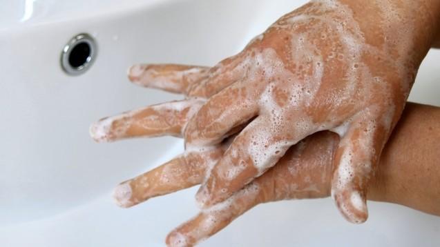 Das häufige Händewaschen während der Coronavirus-Pandemie wird nach Einschätzung von Hautärzten dazu führen, dass mehr Menschen juckende Handekzeme entwickeln. (x / Foto: RRF / stock.adobe.com)