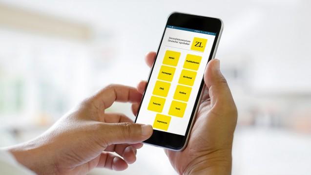 Das Zentrallaboratorium Deutscher Apotheker bietet seit einiger Zeit auch eine App an. (s / Foto: App-Screen: Zentrallaboratorium Deutscher Apotheker | Foto: bongkarn / stock.adobe.com)