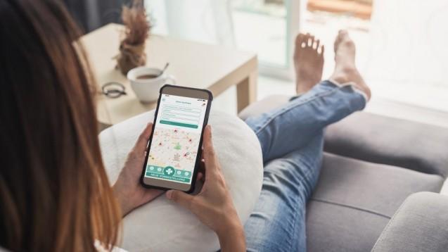 """Die """"deine Apotheke""""-App bietet ab sofort einen Zugang zu den Botendiensten der Vor-Ort-Apotheken in Deutschland an. ( r / Foto: Phoenix)"""
